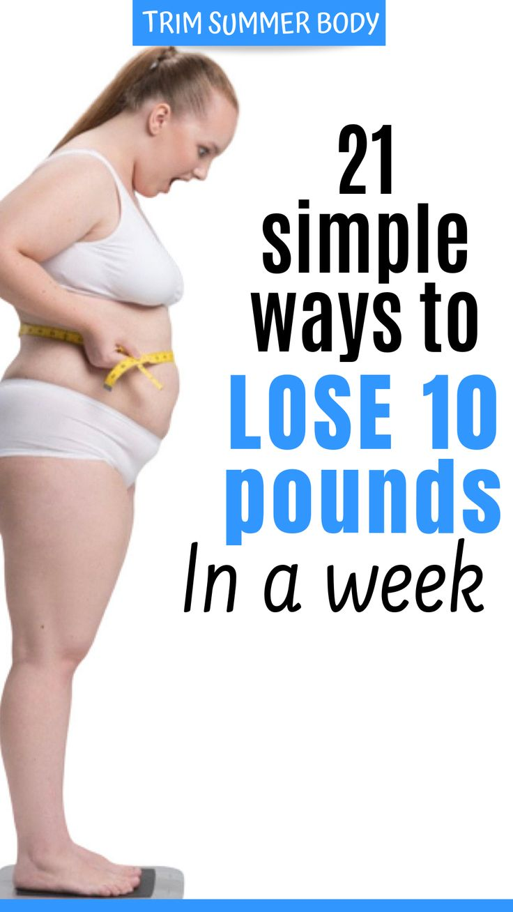 21 science proven weight loss tips for men and women to lose weight