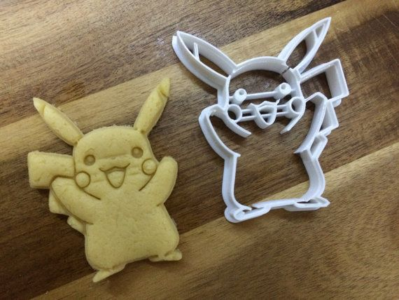 Hey, I found this really awesome Etsy listing at https://www.etsy.com/listing/225295737/pikachu-pokemon-3d-printed-cookie-cutter