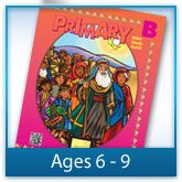 Cover for Primary Bible Study Guide for ages 6 to 9. Click to visit site