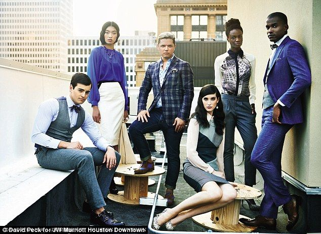 JW Marriott Houston Downtown hired American designer, David Peck, for its recent uniform o...