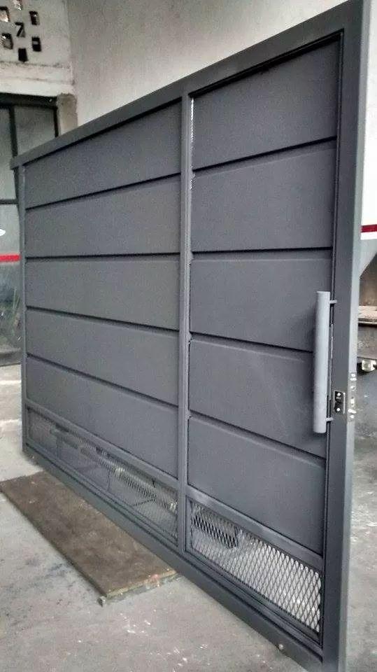 M s de 10 ideas incre bles sobre portones corredizos en for Portones de garaje