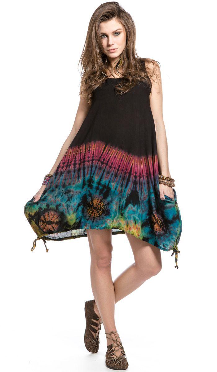 Легкое платье Морской рассвет