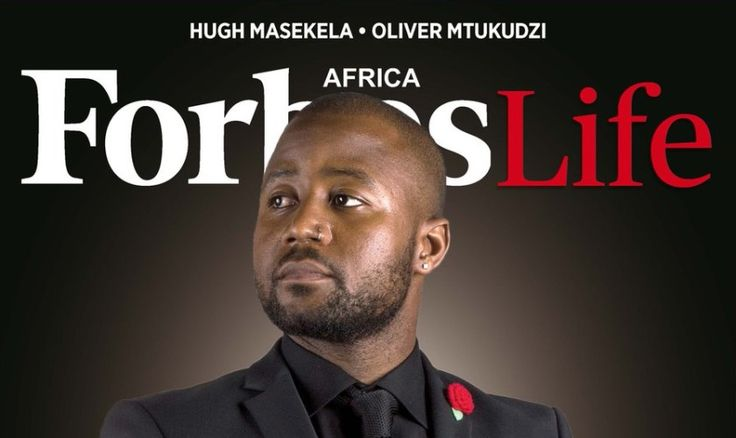Cassper Nyovest graces the cover of Forbes Africa