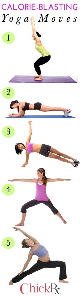 Get zen while you burn calories! This sequence gives you a great at-home workout
