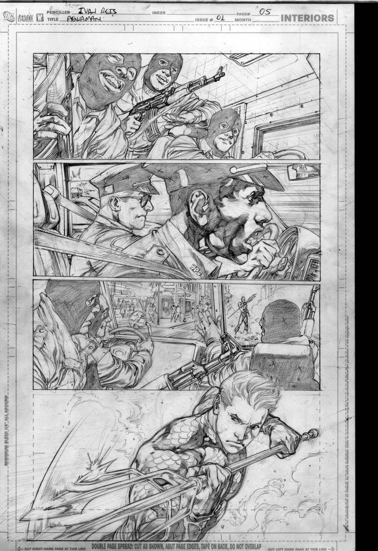 Aquaman 01 page05 by IvanReisDC on deviantART