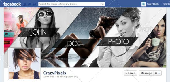 GraphicRiver Glamorous Facebook Cover Design for a Photo Studio ...