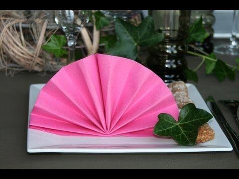 Napkin folding from Duni - Jelly Bag - YouTube