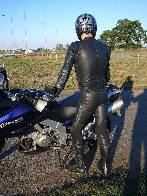 LeatherChapUK | Leather guys | Leather Pants, Bike ...