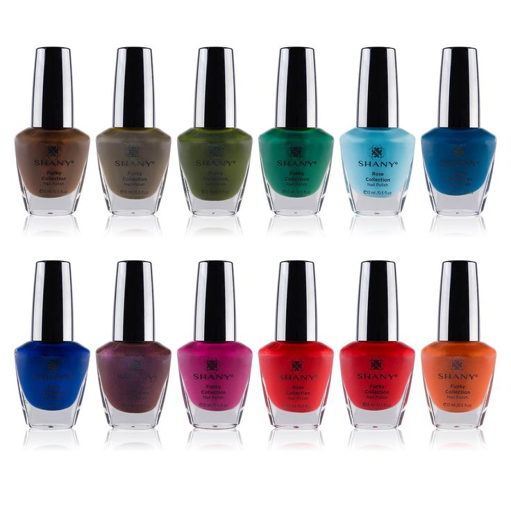 The Funky Collection Nail Polish Set - 12 Bold and Quirky Shades | SHANY Cosmetics