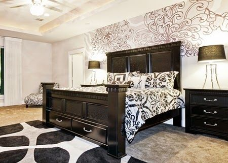 Beautiful Bedroom Wall Murals | TENKA