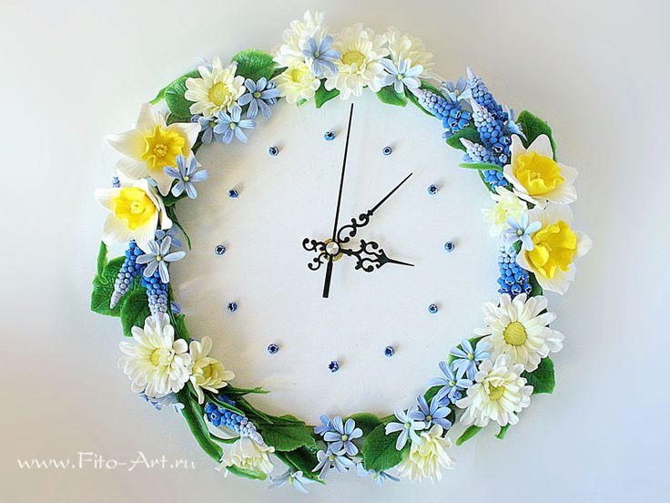 """Watch """"Spring Time"""" - Fito-Art.ru - this is from clay"""