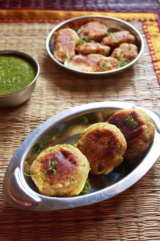 sweet potato tikki recipe, sweet potato patties | navratri recipes