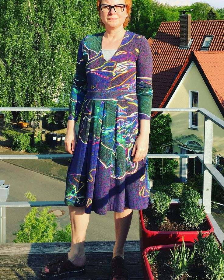 "5 likerklikk, 1 kommentarer – Sybille (@feovogt) på Instagram: ""Day13 mmmay, wearing a comfortable Tuulidress#mmm17 #memademay #mmmay17 #tuulidress #namedpatterns"""