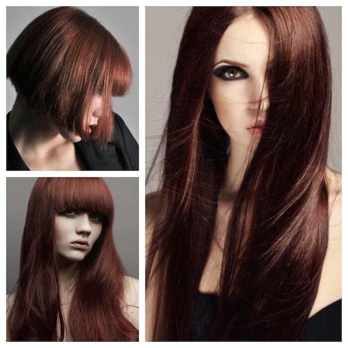25 Beautiful Cinnamon Brown Hair Color Ideas On Pinterest