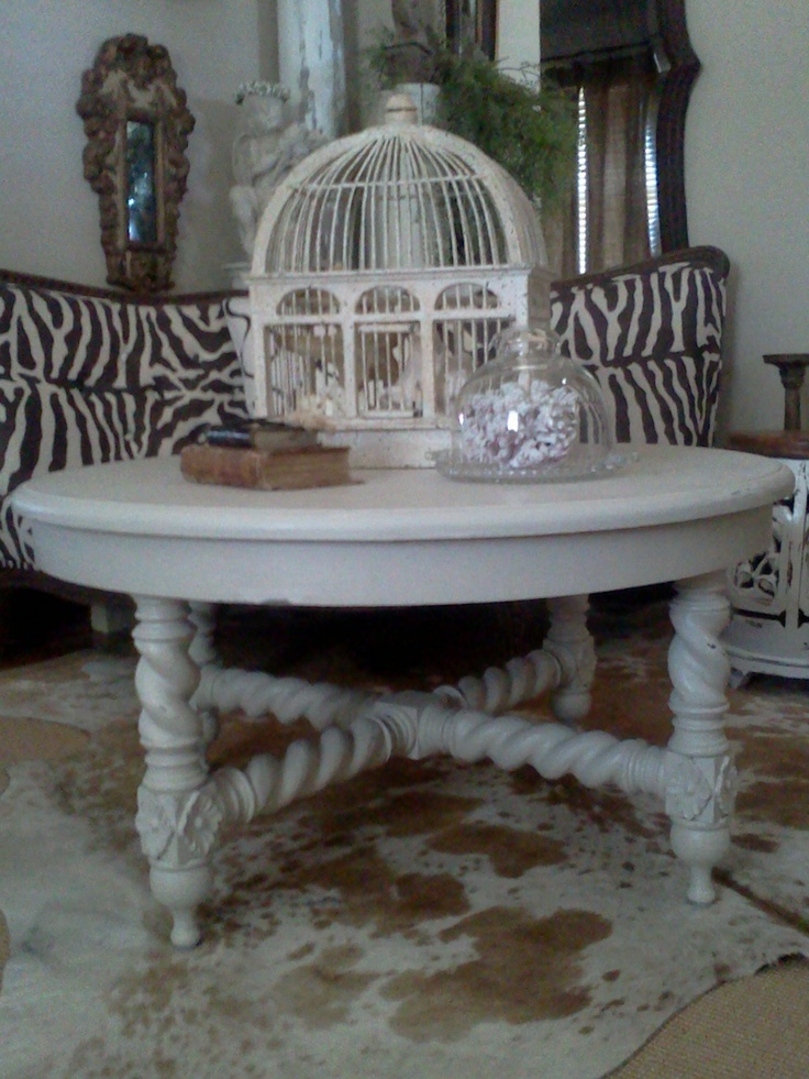 A great Guildmaster shabby chic coffee table