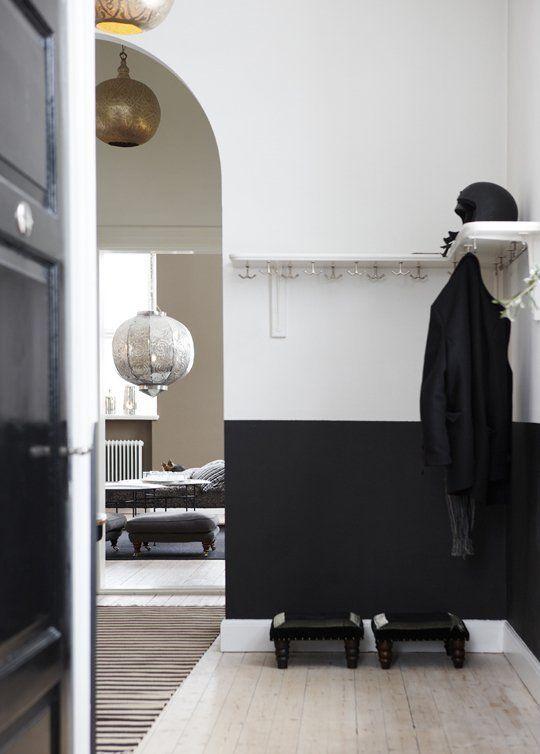 Decoration Inspiration: 10 Black & White Entryways   Apartment Therapy