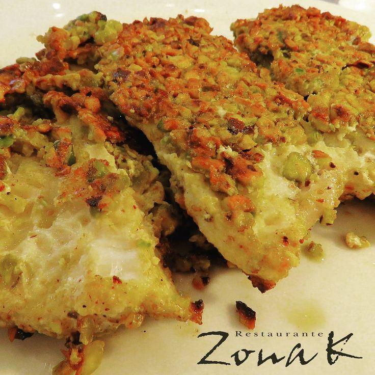 #zonakbogota #zonak #restaurantezonak #parquedela93 #food Corvina al pistacho