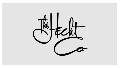 Hand lettered logos from defunct department stores.