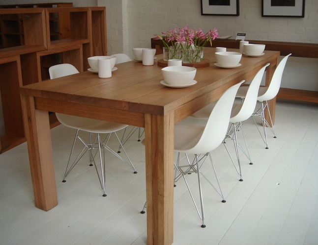Timber Dining Table  Wooden Tables  Dining Tables  Dining Room  Dining  Suites  Eames Chairs  White Chairs  For The Home  Kitchen Ideas134 best Sofala Dining Room images on Pinterest   Dining room  . Dining Table Chairs Australia. Home Design Ideas