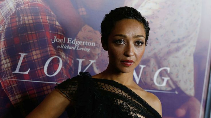 Ruth Negga attends 'Loving' New York Premiere at Landmark Sunshine Theater on October 26, 2016 in New York City.