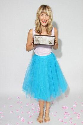 The Girl That Loves Mavi Tül Tütü Etek: Lidyana.com