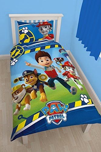 "Character World Single ""Paw Patrol Rescue"" Panel Duvet Set, Multi-Colour Character World http://www.amazon.co.uk/dp/B00WO7BF1U/ref=cm_sw_r_pi_dp_zuNRwb1VAN5SG"