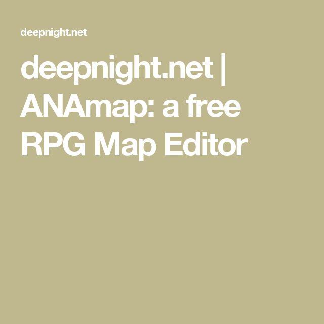 deepnightnet anamap a free rpg map editor nerdgasm