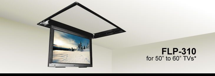 fold down large television bracket | Help for a sliding fold-up/down TV mount