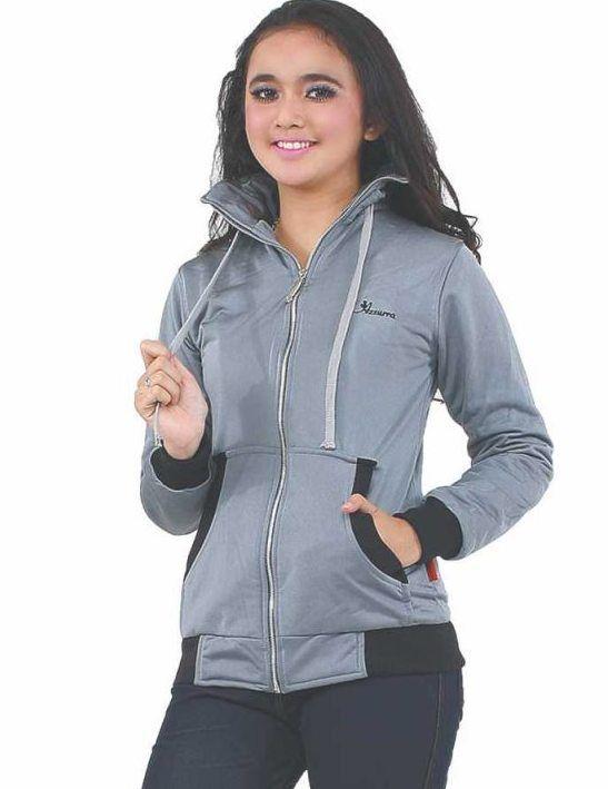 Jaket Cewek Grey Diadora 507-64 Merupakan jaket khusus untuk cewek yang ingin tampil trendy dan percaya diri dengan balutan jaket keren dan dengan bahan yang lebut #Fashion #Women #JaketCewek