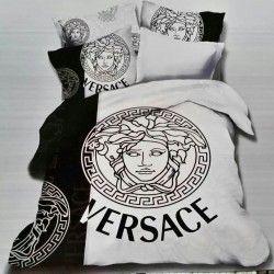 Versace Bettwäsche günstig billig gut preiswert King Size Seide Baumwolle Bed Set 6 Teilig