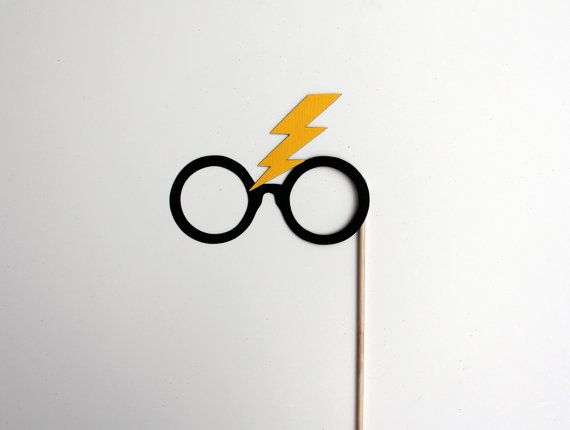 Mature Harry Potter Photo Booth Props Harry by TOASTEDProject, $2.50
