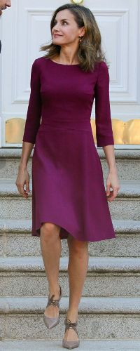 6 Nov 2017 - Queen Letizia attends welcome ceremony for the President of Israel