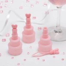 JA! nu ook roze bruidstaart bellenblaas te koop.