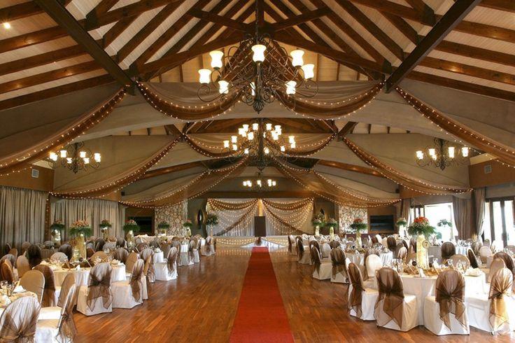 Lobola Hall Wedding Venue setup