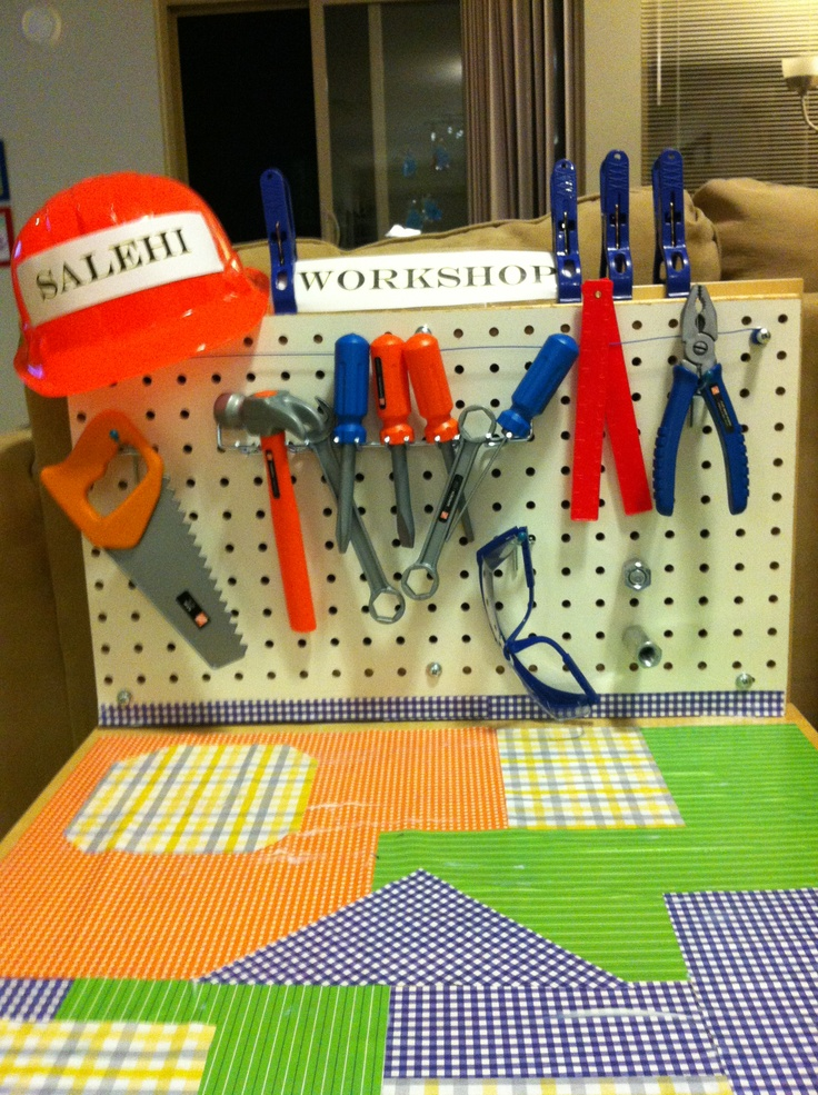 8 Best Images About Kids Tool Bench Ideas On Pinterest