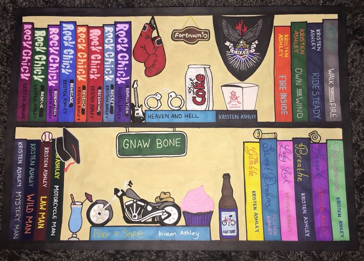 Kristen Ashley Special, Customised Series BookShelf ⭐️Sammy⭐️  https://www.facebook.com/pages/BookShelves-and-Beyond/125443027800758
