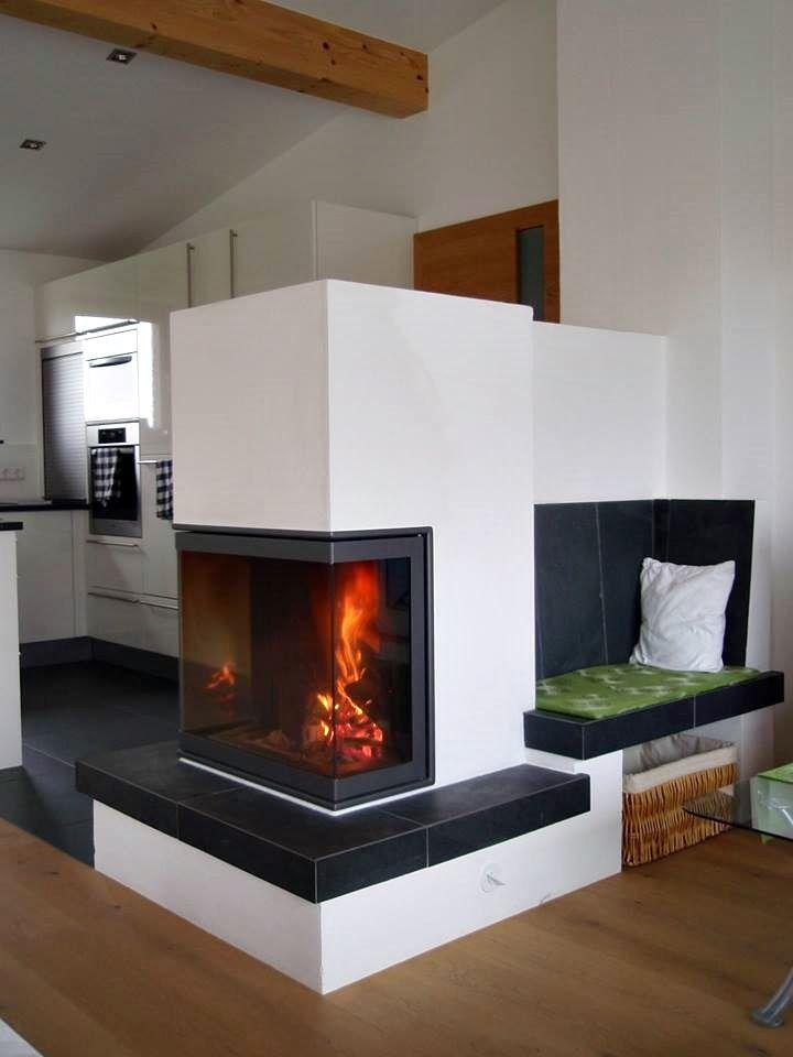 Cele mai bune 25+ de idei despre Kaminofen rund pe Pinterest - moderne wohnzimmer mit kachelofen