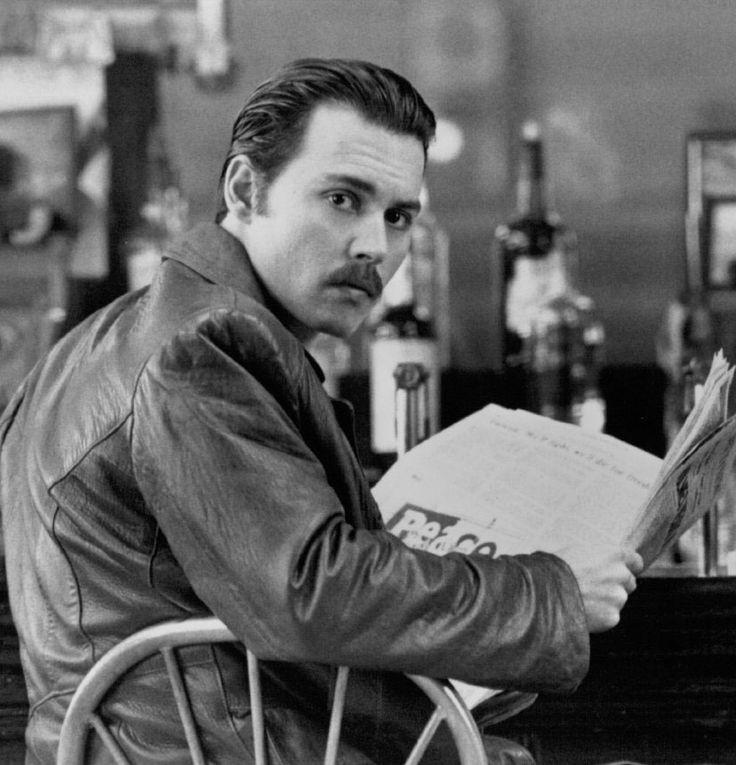 "Johnny Depp en ""Donnie Brasco"", 1997"