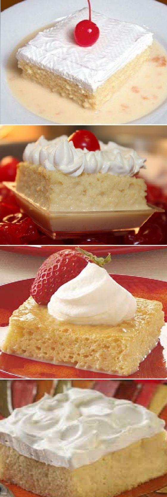 Pastel de 3 Leches en 5 minutos! ¿Te vas a perder esta receta? #3leches #tresleches #postres #receta #recipe #casero #torta #tartas #pastel #nestlecocina #bizcocho #bizcochuelo #tasty #cocina #chocolate #pan #panes Si te gusta dinos HOLA y dale a Me Gusta MIREN…