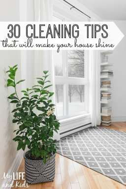 Need some inspiration to start your big Spring clean? These simple cleaning tips will make your house shine.