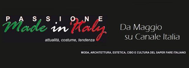 """PassioneMadeinItaly   Madeinitaly For Me  Finalmente un nuovo format televisivo, nato per fare """"cultura"""" del Made in Italy attraverso salotti e presentazioni, andrà in onda sulle frequenze nazionali di CANALE ITALIA e Sky, da maggio 2015  #moda #artigianato #tv #design #benessere"""