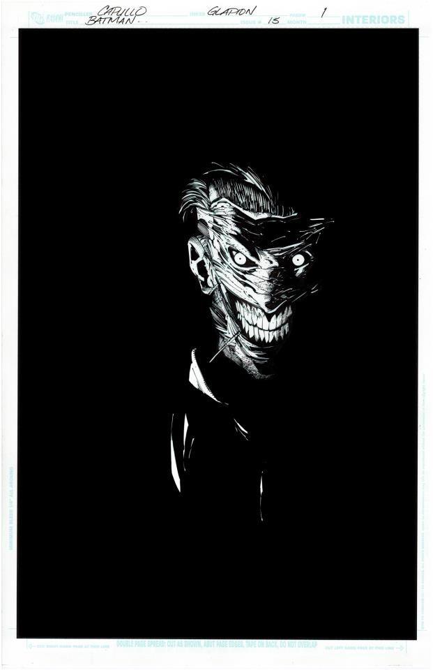 The Joker by Greg Capullo & Jonathan Glapion