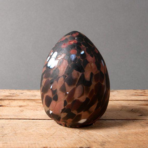 kosta boda egg glass monica backstrom sweden art by northvintage