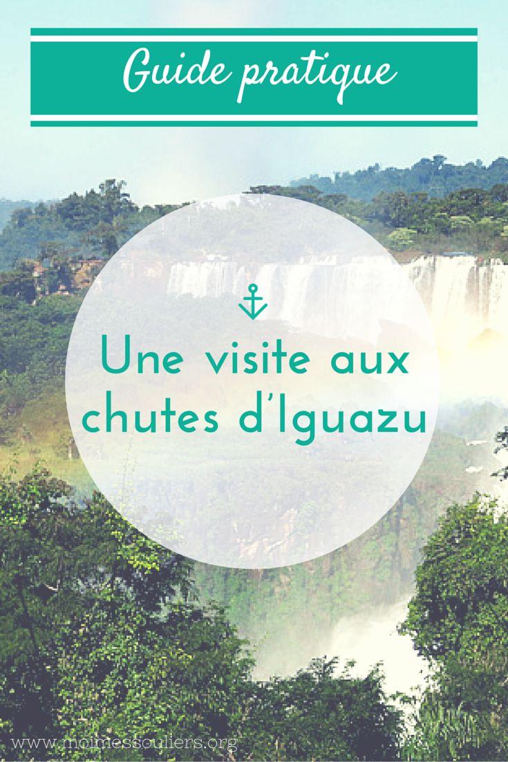 Guide pratique pour une visite aux chute d'Iguazu, à la frontière de l'Argentine et du Brésil.