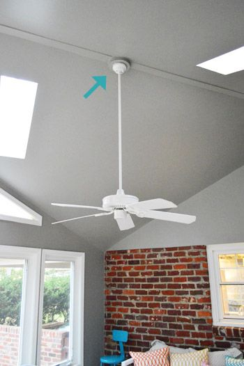 65 best ceiling fans images on pinterest ceiling fan add light to ceiling fan diy yhl mozeypictures Choice Image