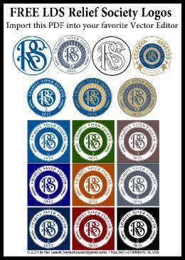 Relief Society Logos/Clipart