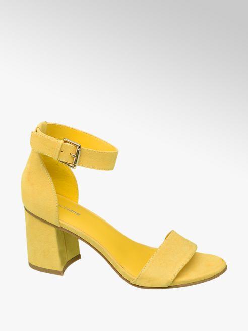 f19812f3891ba Sandále značky Graceland vo farbe žltá - deichmann.com | sho v roku ...