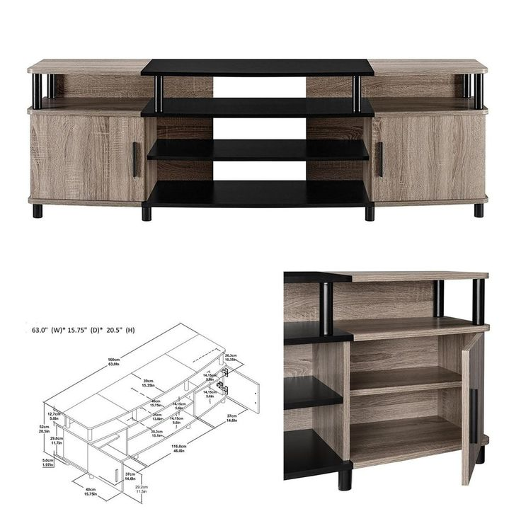 TV stand media entertainment center storage cabinet furniture for 70 inch screen #PerfectAllinaceLad #Contemporary