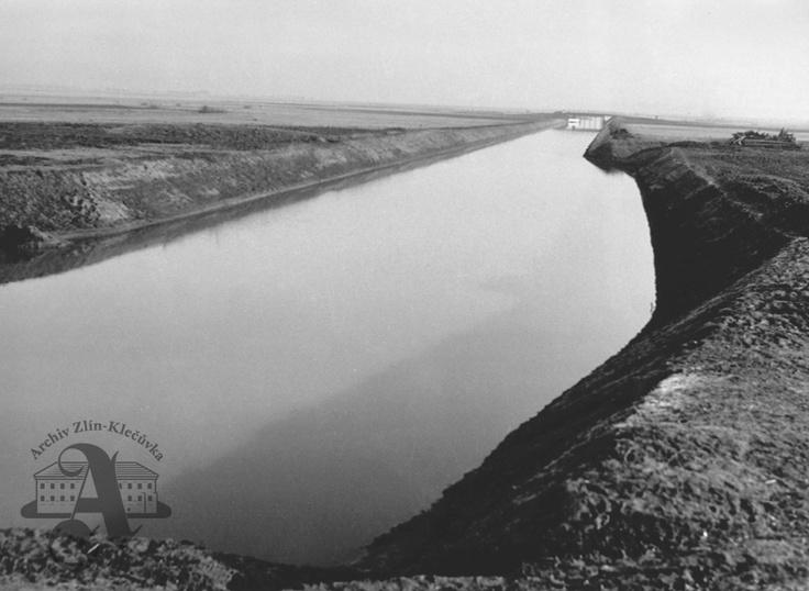 Baťa Canal, Uherské Hradiště stretch, 1936