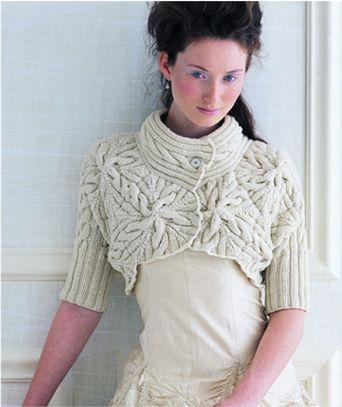 Crochet Patterns: Shrugs And Bolero's - Free Crochet Patterns